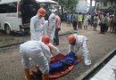 Sesosok  Mayat Laki-laki Ditemukan Tergeletak Didepan Bekas Kantor Satpol PP Laelangi